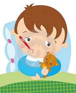 niño enferm